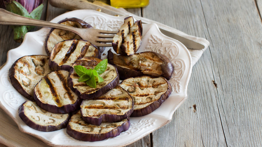 Image for Spicy Grilled Eggplant