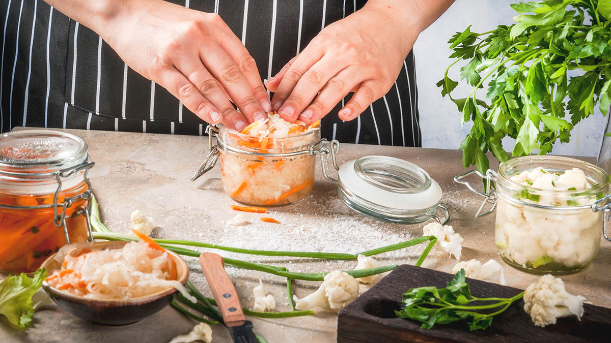 Image for Countertop Fermentation: Spring Vegetables