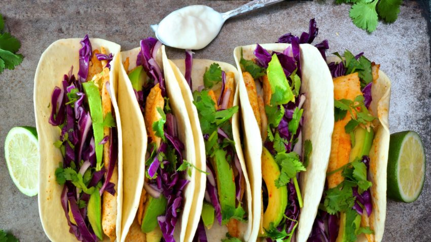 Image for Fish Tacos with Slaw