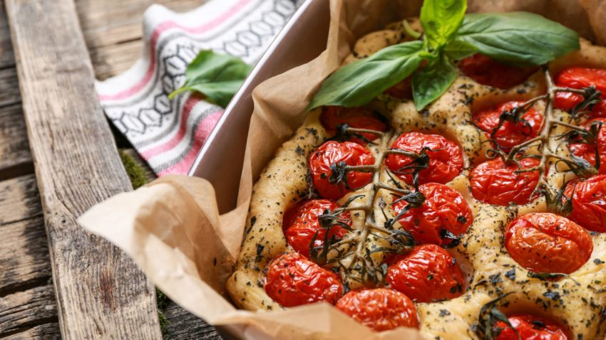 Image for Italian Baking: Focaccia