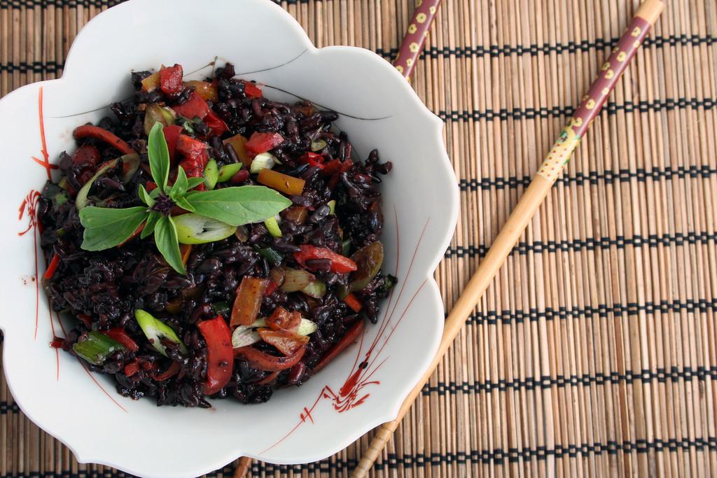 Image for Forbidden Rice Tabbouleh