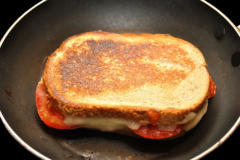 Image for Grilled Cheese, Tomato & Spinach Sandwich