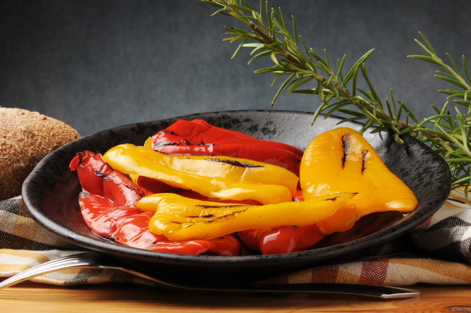 Image for Grilled Sweet Peppers with Mozzarella