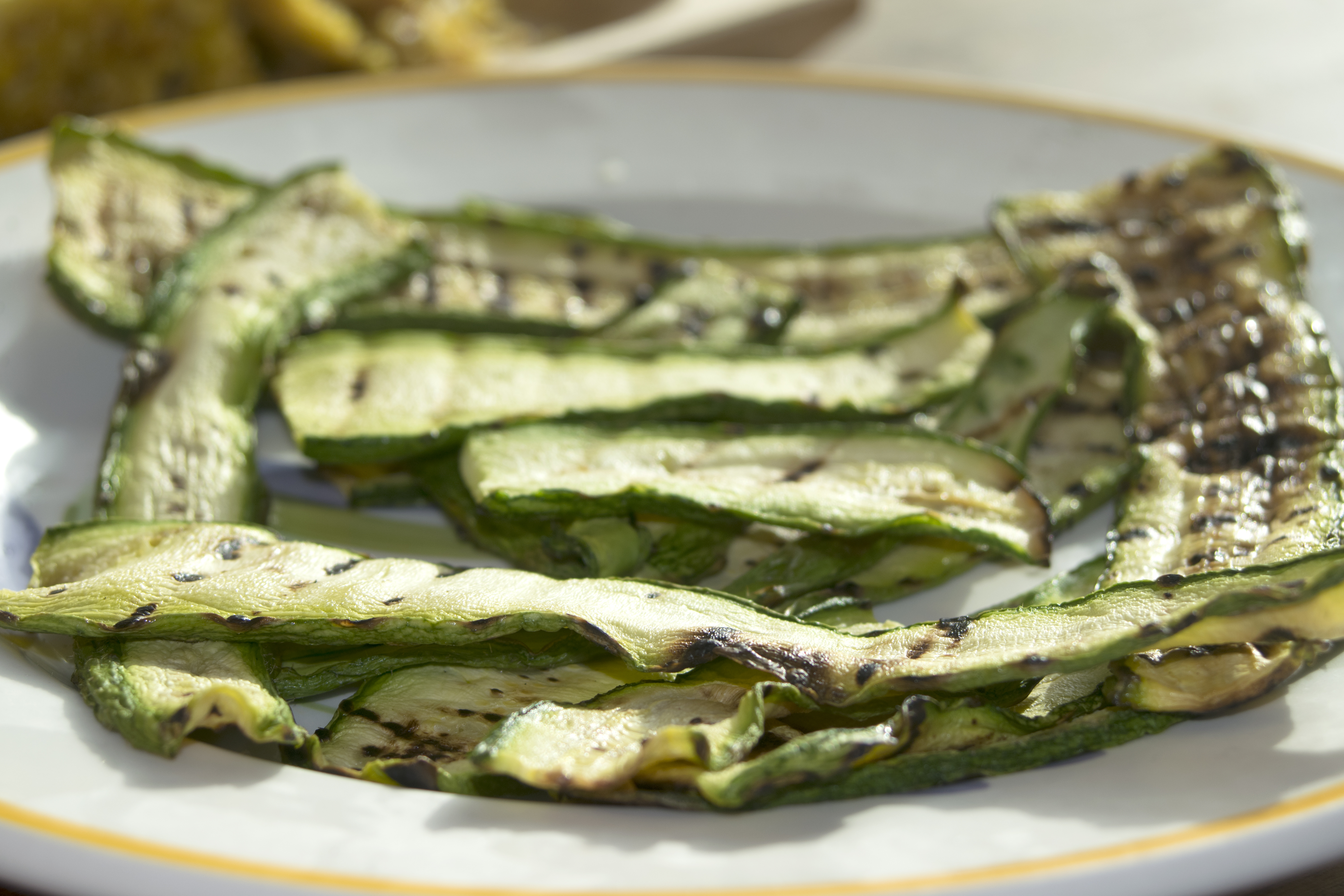 Image for Grilled Herbed Zucchini