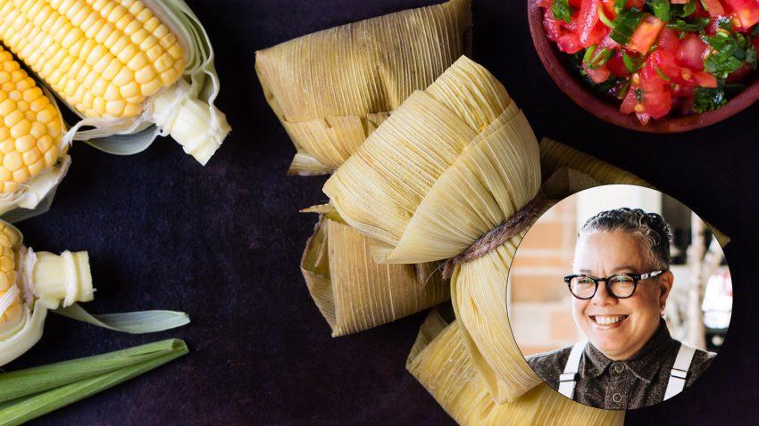 Image for Virtual Class – Ecuadorian Humitas: Fresh Sweet Corn Tamales