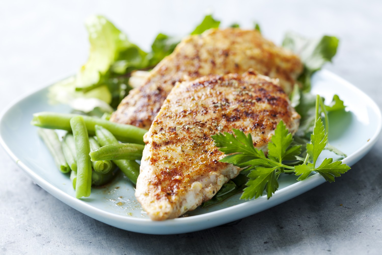 Image for Hummus Crusted Chicken