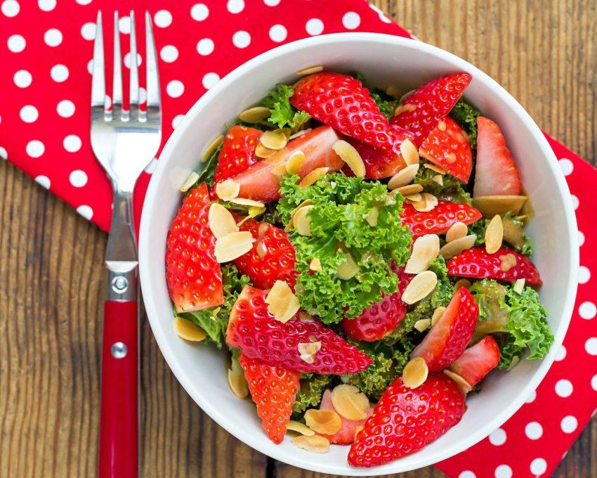 Image for Kale & Strawberry Salad