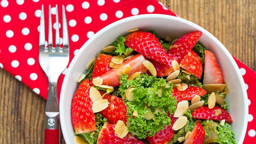 Image for Kale & Strawberry Salad