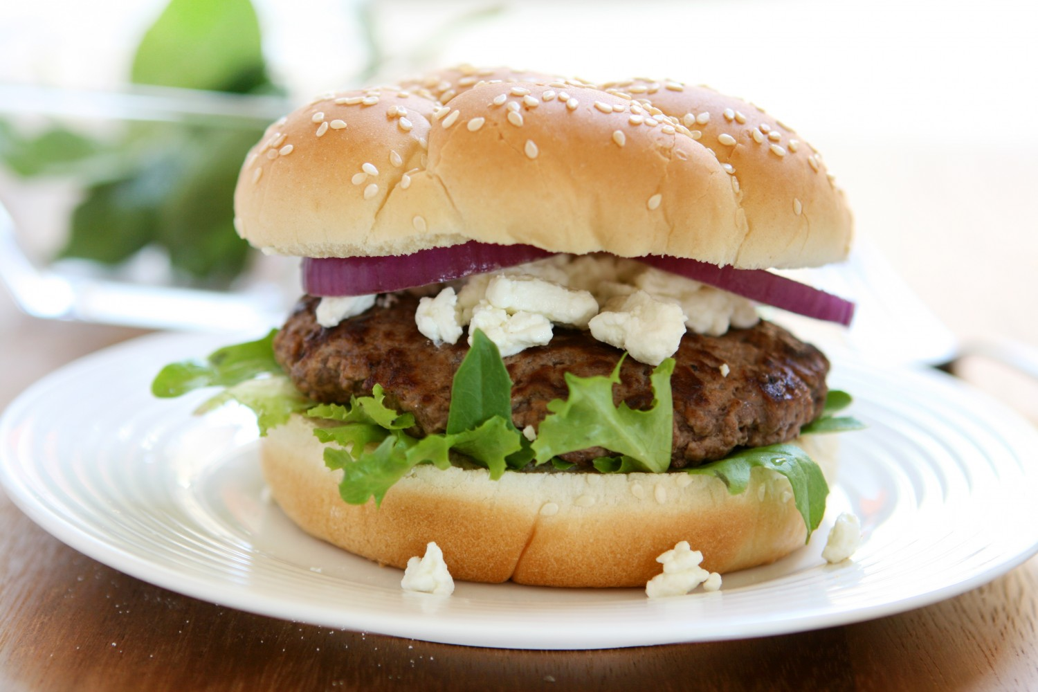Image for Lamb Burgers with Goat Cheese