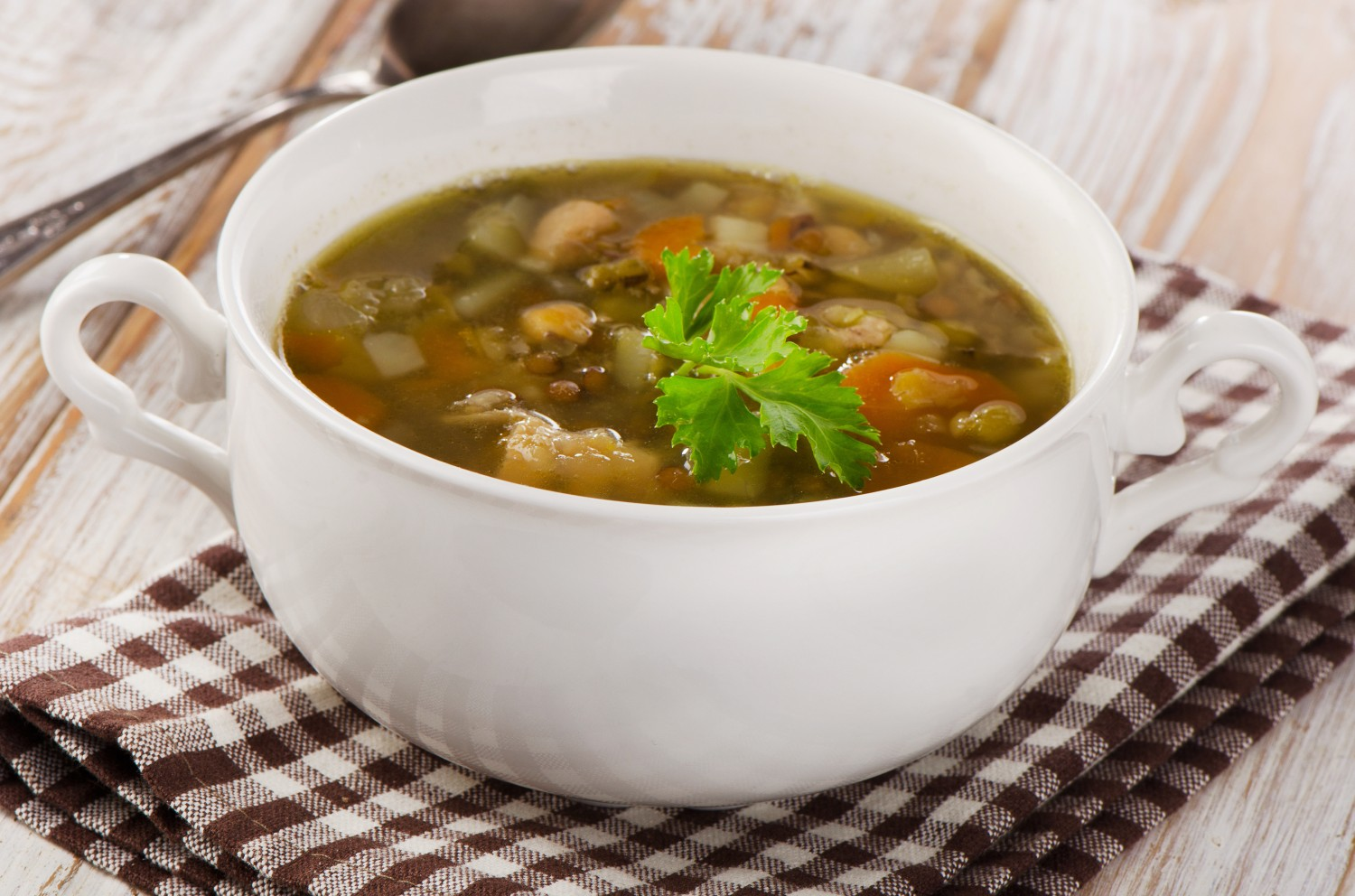 Image for Greens and Pork Soup
