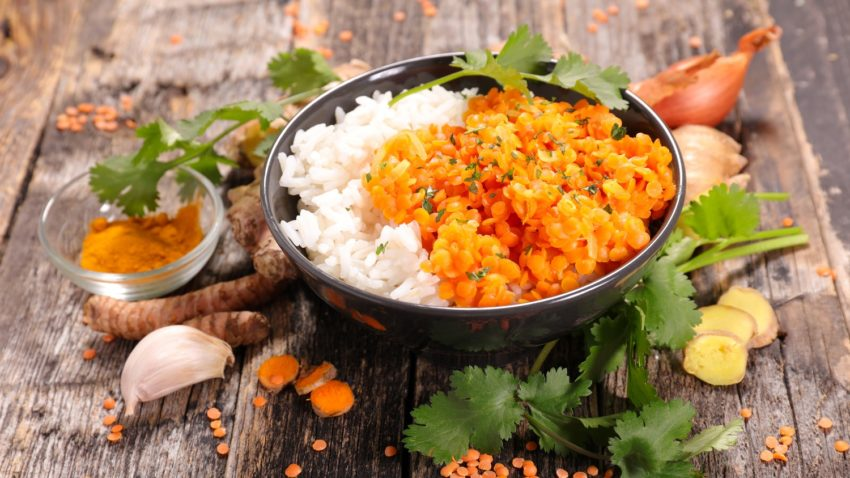 Image for Coconut Curry Lentils
