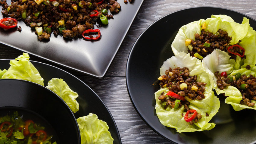 Image for Cooking with Co+op Basics: Taco Lettuce Wraps with Sweet Corn