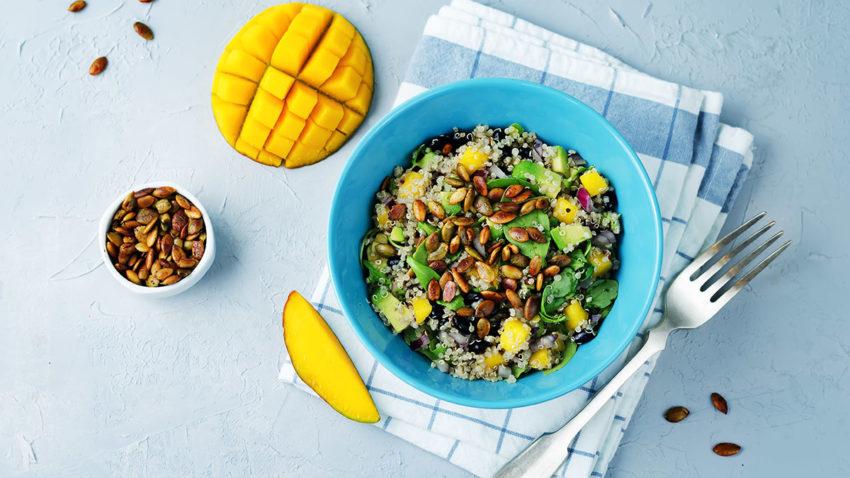 Image for Mango, Black Bean & Quinoa Salad
