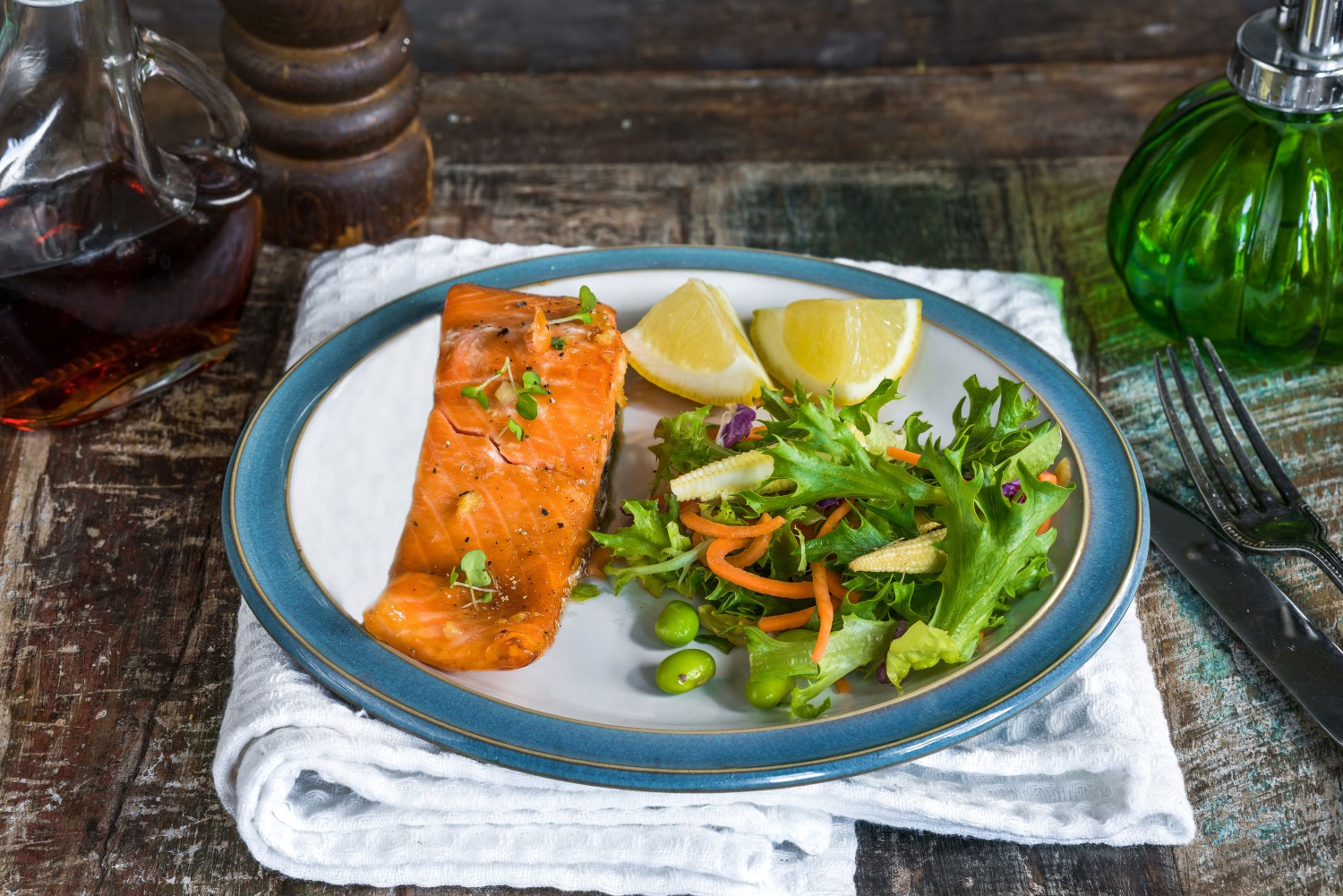 Image for Maple Glazed Salmon
