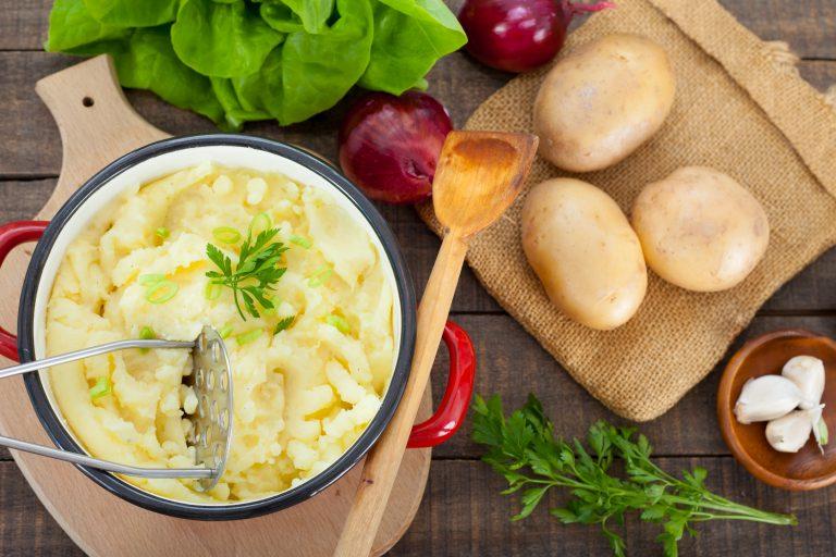 Image for Roasted Garlic Mashed Potatoes