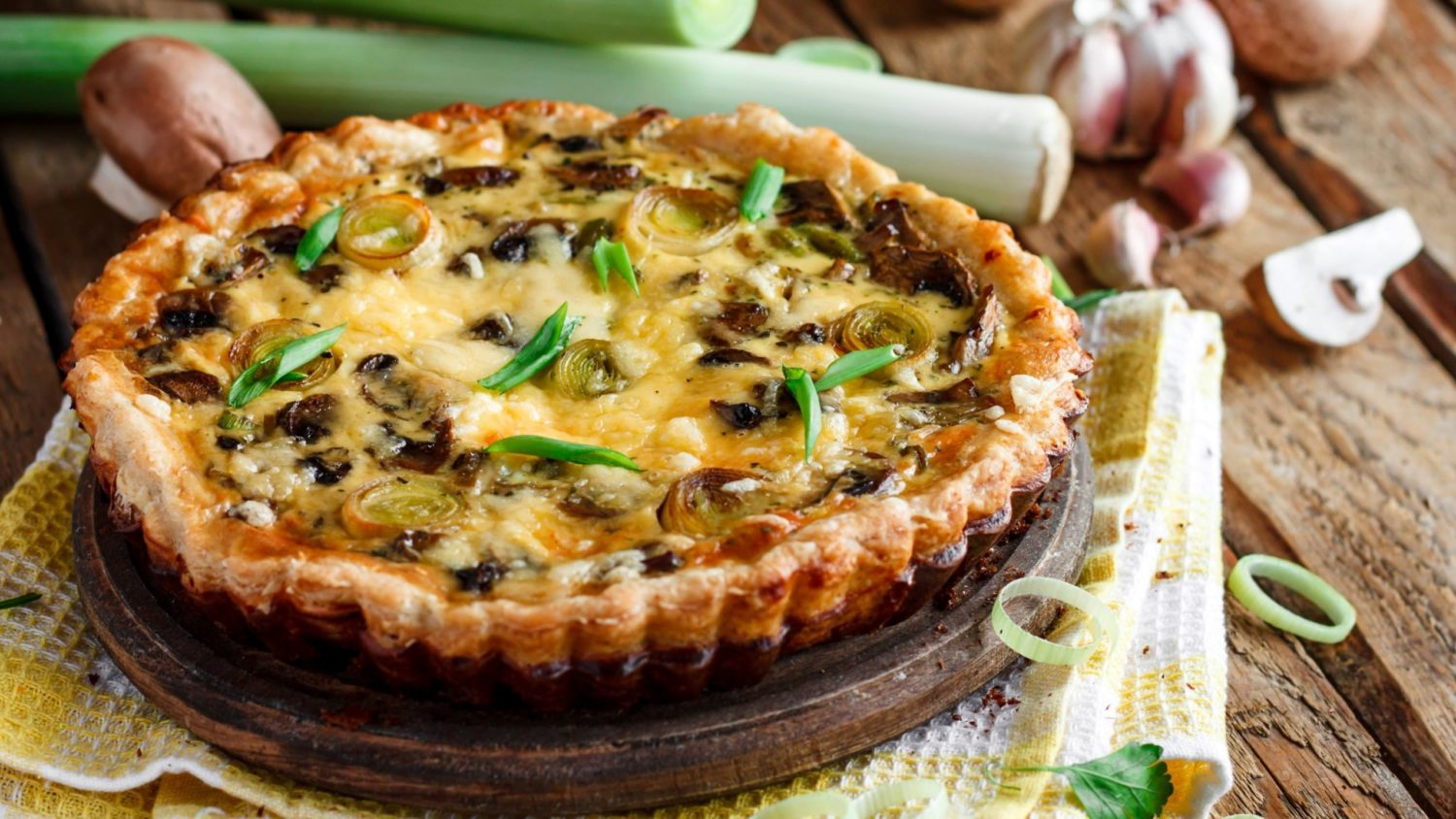 Image for Early Summer Savory Tarts