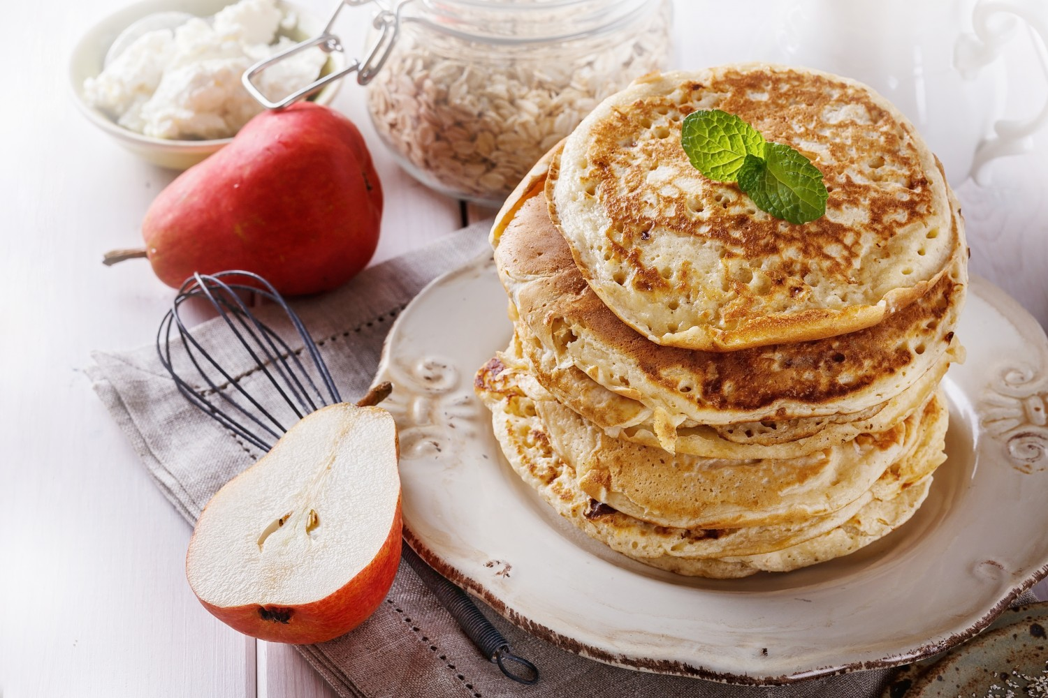 Image for Oatmeal Pancakes