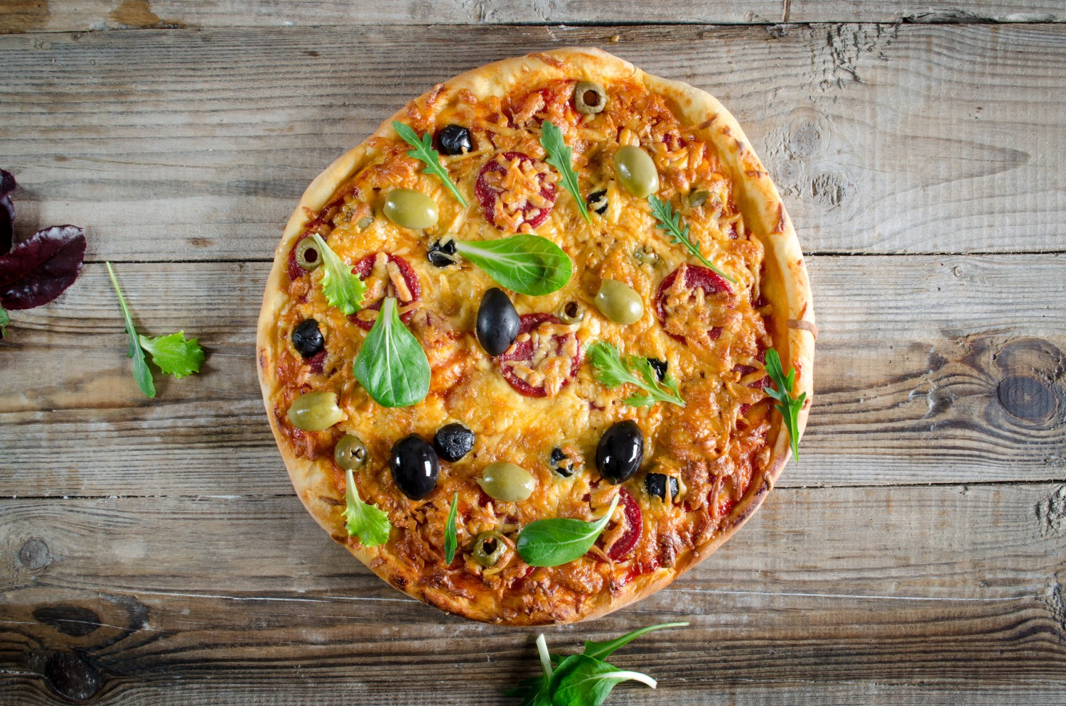 Image for Red & Black Pizza