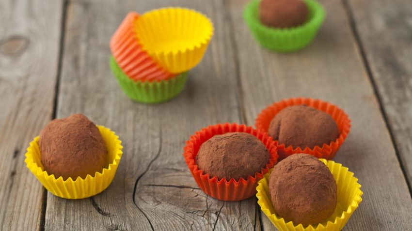 Image for Orange Chocolate Truffles