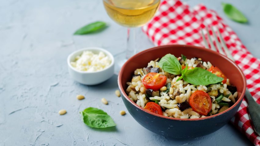 Image for Mediterranean Orzo Salad