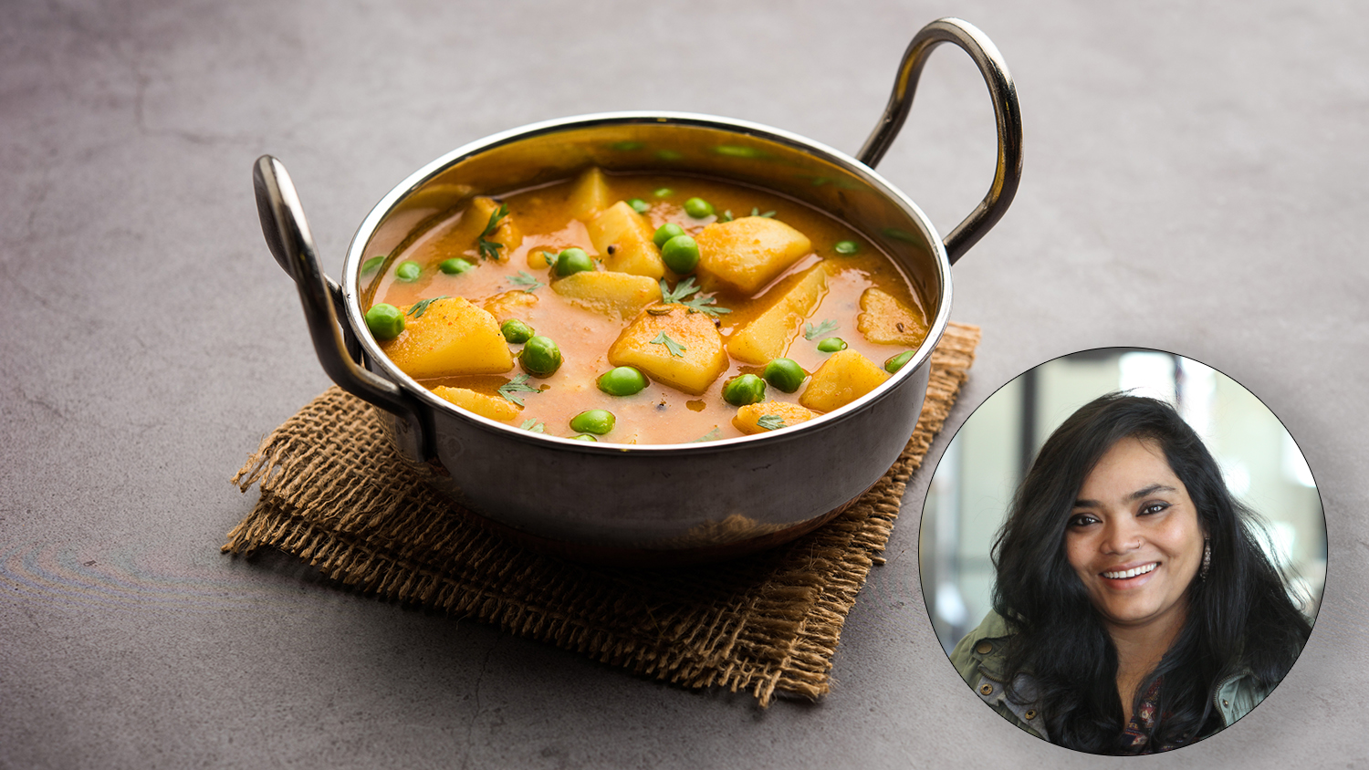 Image for Virtual Class – Himalayan Cooking: Potato Curry with Peas
