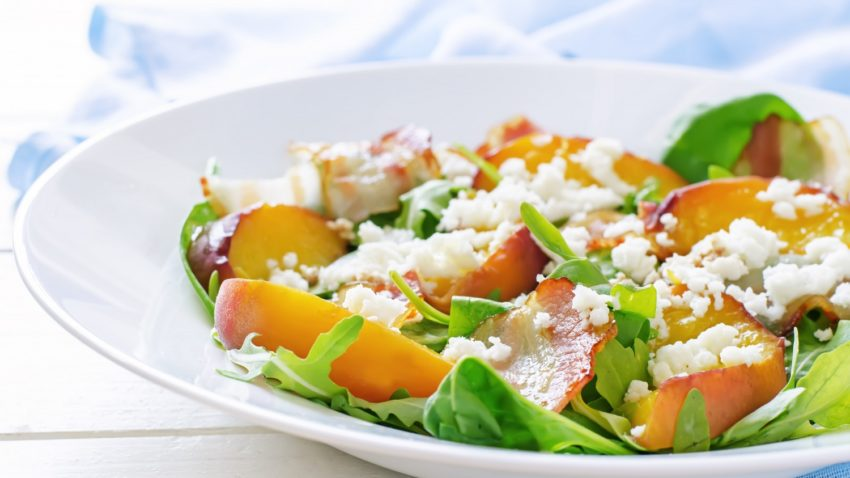 Image for Peach, Pecan & Goat Cheese Salad