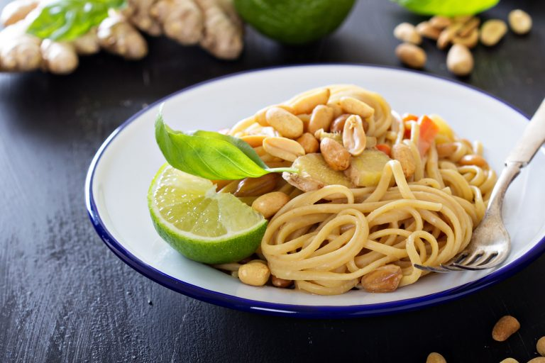 Image for Spicy Peanut Noodles