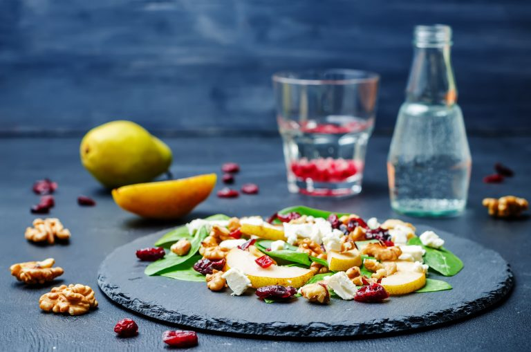 Image for Pear and Chevre Green Salad