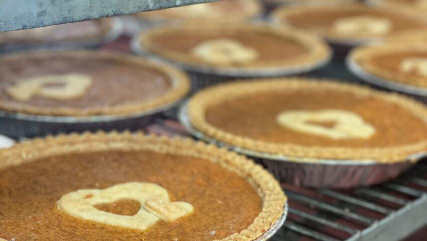 Image for October Positive Change: Sweet Potato Comfort Pie