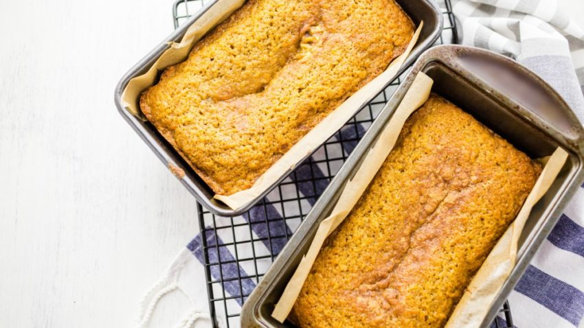 Image for Pumpkin Bread with Cinnamon Butter