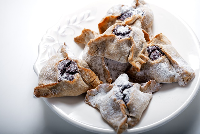 Image for Hamantaschen Cookies with Apricot Filling