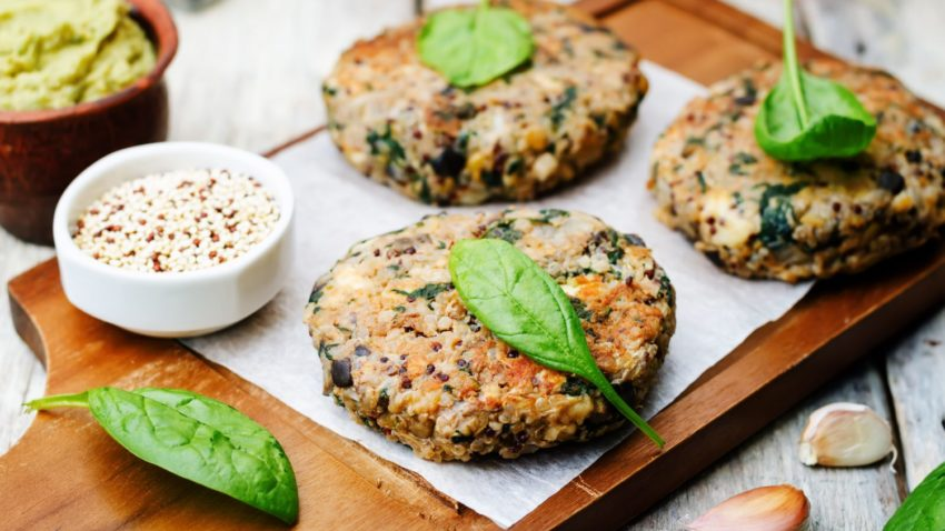 Image for Mediterranean Quinoa Burgers