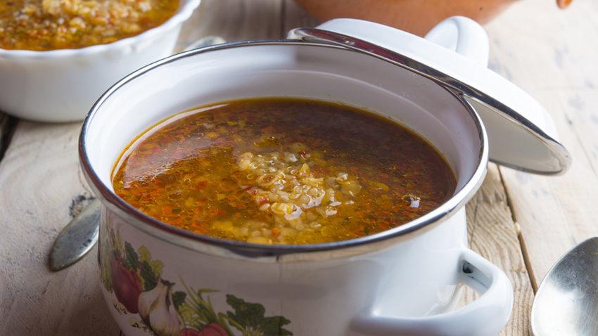 Image for Mushroom Quinoa Soup