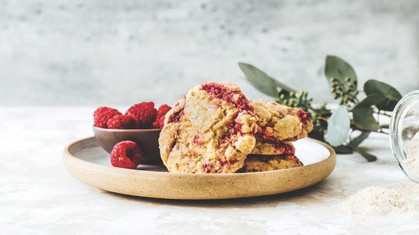 Image for Raspberry Cream Scones