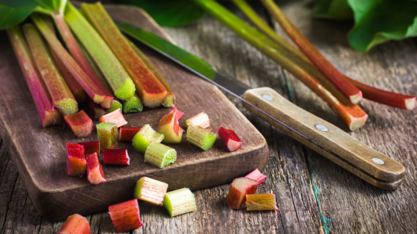 Image for Cooking with Rhubarb