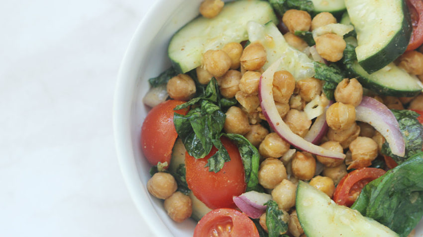 Image for Roasted Chickpea & Tomato Salad