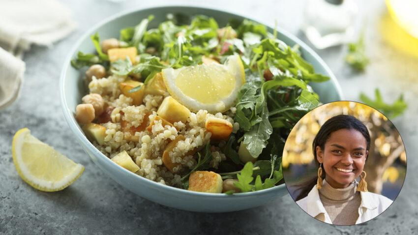 Image for Virtual Budget Cooking: Lemon Arugula Couscous Salad