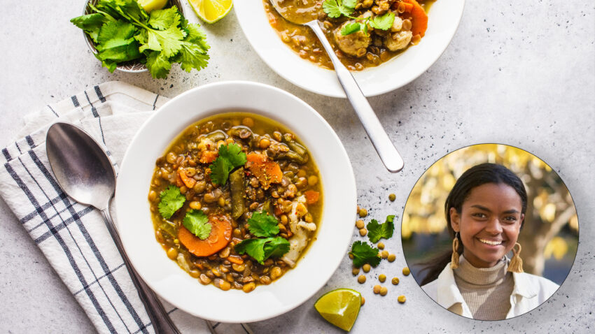 Image for Virtual Budget Cooking: Spicy Vegan Lentil Soup