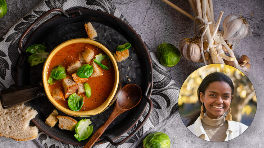Image for Virtual Budget Cooking: Hearty Fall Brussels Sprouts and Beef Stew