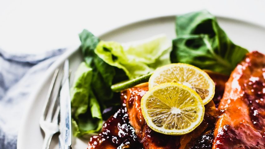 Image for Citrus-Glazed Surrender Salmon Fillets