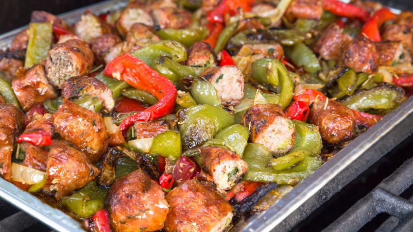 Image for Smoked Sausage & Peppers