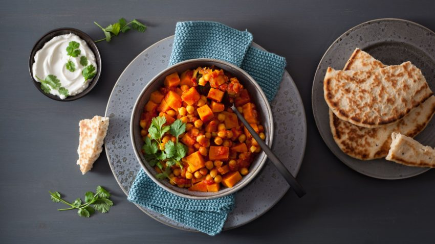 Image for Budget Cooking at the Co-op: Crispy Spiced Chickpea & Roasted Carrot Bowl