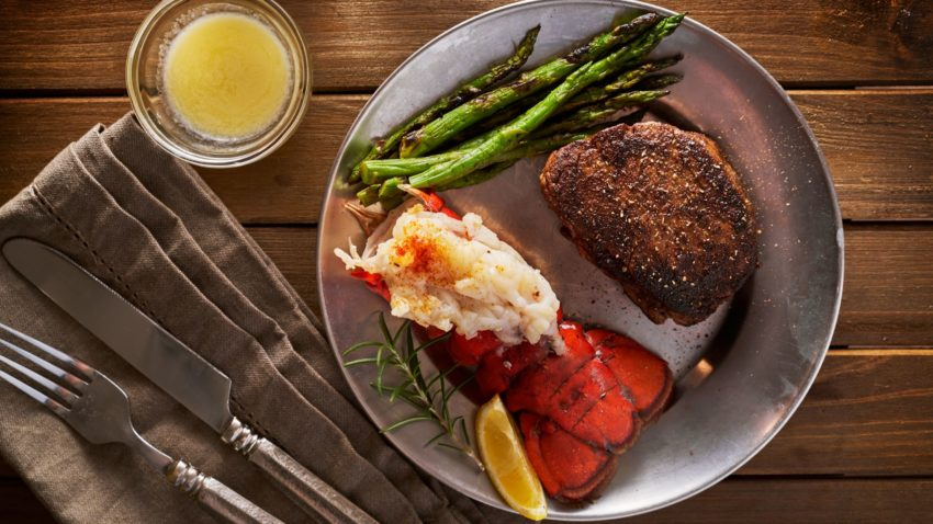 Image for Lobster Tail & NY Strip Steak