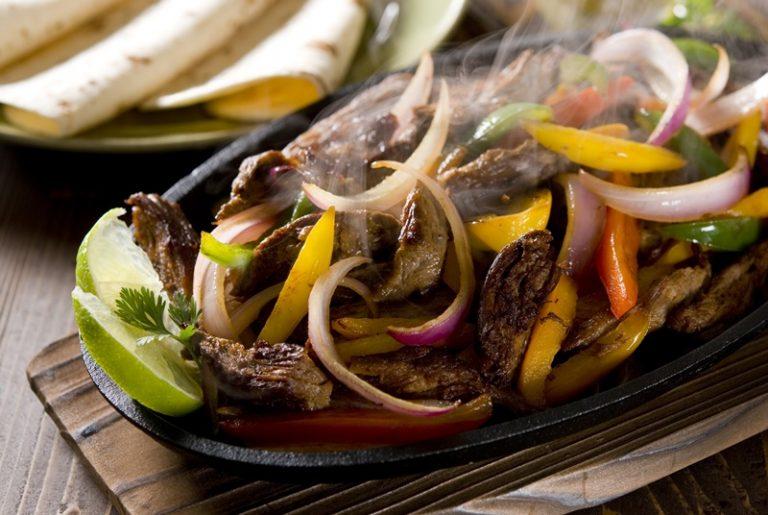 Image for Coffee Rubbed Steak Fajitas