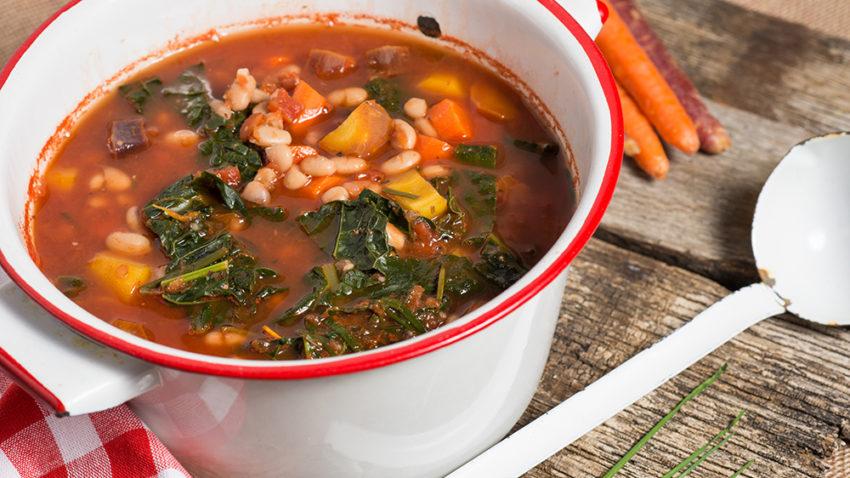 Image for Autumn Kale & Squash Soup