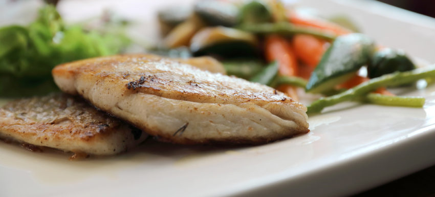 Image for Ginger Scallion Striped Bass