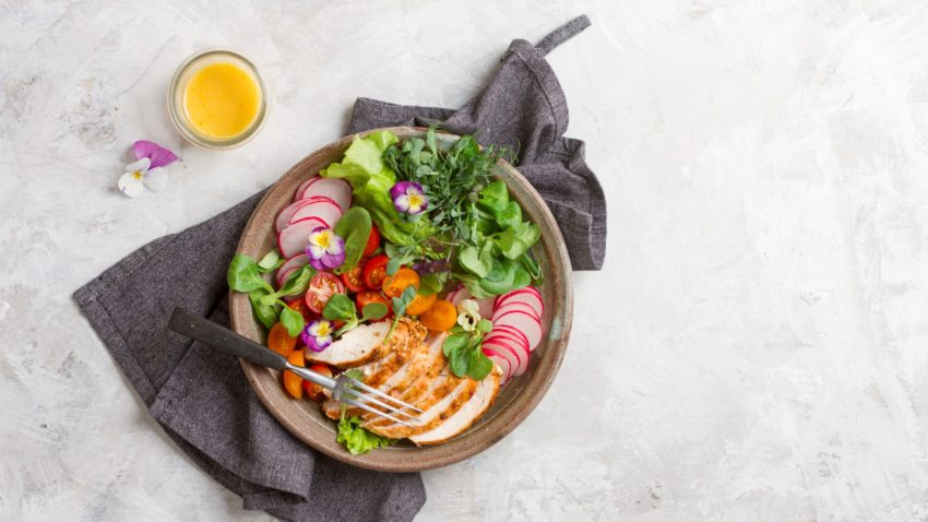 Image for Budget Cooking at the Co-op: Summer Vegetable & Chicken Power Bowl