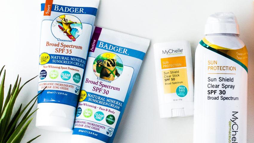 Image for Choose Safer Sunscreens