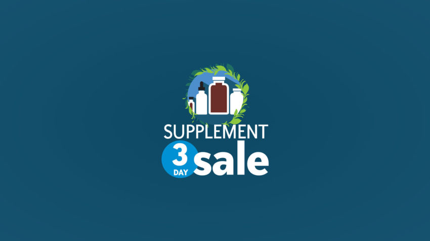 Image for Supplement 3-Day Sale