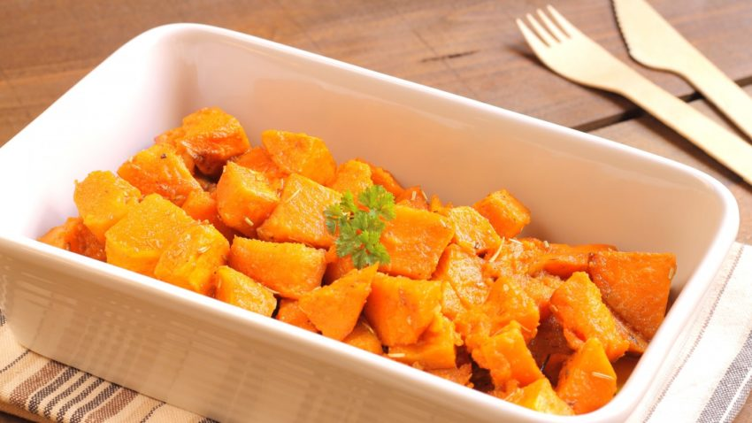 Image for Thyme-Roasted Sweet Potatoes